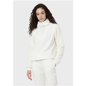 Holidays Sweatshirt With Plush Effect Sleeves for Women