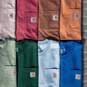 低至6折Carhartt 精选休闲服饰促销 收百搭T恤