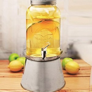 from $9.99 Glass Drink Dispenser Sale @ Walmart