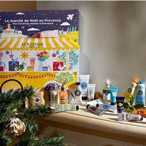 送自选大礼包或新人满减$20L'Occitane 欧舒丹圣诞倒数月历 送礼首选 经典产品1次get