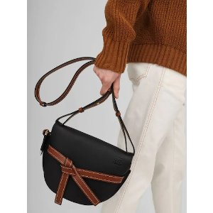 LoeweGATE SMALL COLOR BLOCK LEATHER BAG