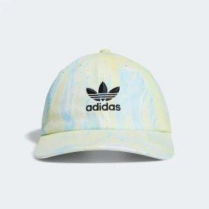 Adidas扎染风三叶草棒球帽