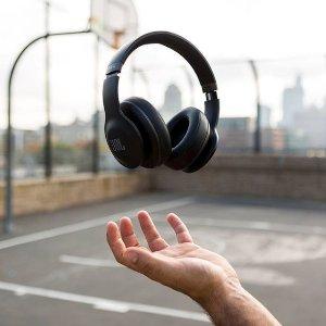 55折+新用户立减15欧黑五价:JBL E500BT 头戴式无线蓝牙耳机€44.99收 比官网还便宜