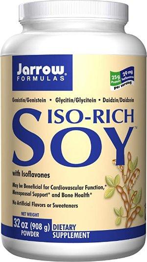 Jarrow Formulas Iso-Rich Soy, Menopausal Support and Bone Health, 32 Oz