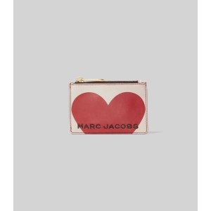 Marc JacobsThe Heart Box Top Zip Multi Wallet