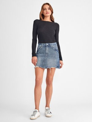 Georgia High Rise Skirt | Gardner – DL1961
