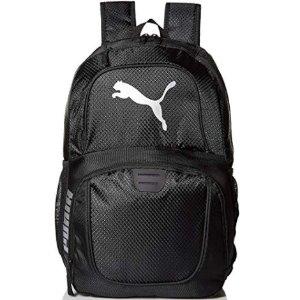$15.99(原价$24)PUMA Logo款双肩运动背包