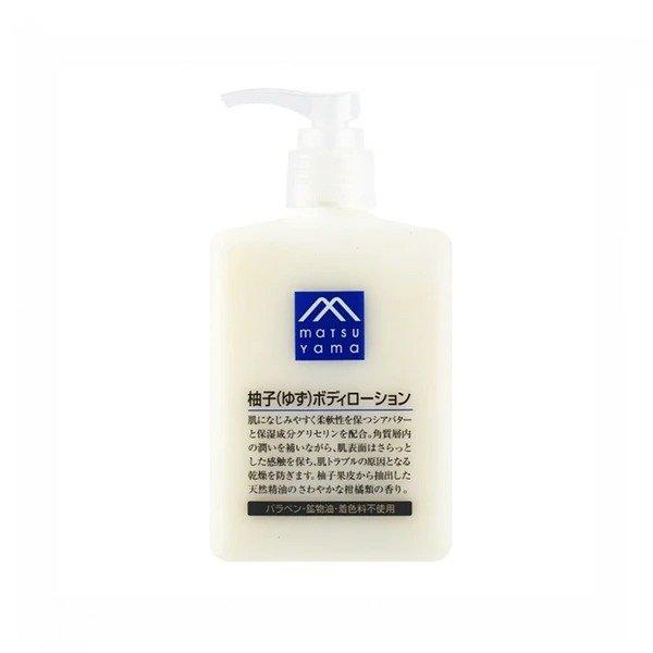 松山油脂 M-mark 柚子精华身体乳 300ml