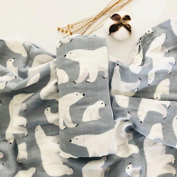 宝宝盖毯纱布巾