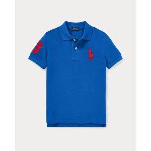 Ralph LaurenCotton Mesh Polo Shirt