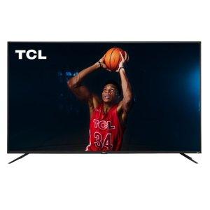 不等黑五现在买,$699收史低价:TCL 75吋超大屏 4K HDR Roku 智能电视 75S425