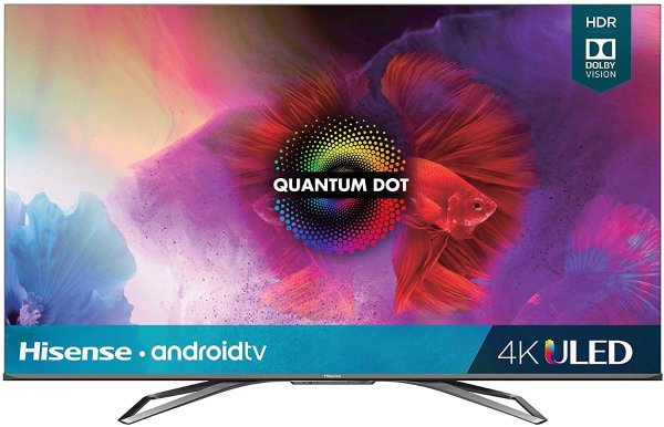 65-Inch Class H9 Quantum Series Android 4K ULED Smart TV with Hand-Free Voice Control (65H9G, 2020 Model)