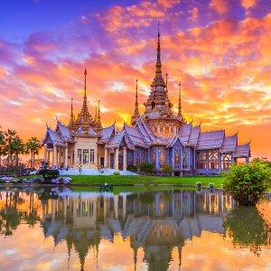 Round-trip as low as $399US-Bankok Ticket Sale