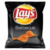 Lay's 薯片 烧烤BBQ口味 104包