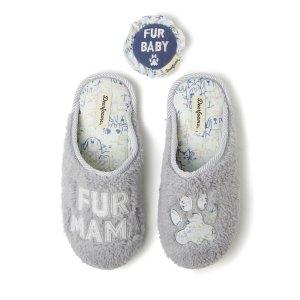 DearfoamsWomen's Fur Mama Scuff Slipper