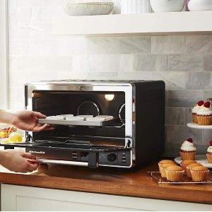 $269.99包邮(原价$399.99)KitchenAid 空气对流烤箱 可烤两只整鸡 速度提升20%