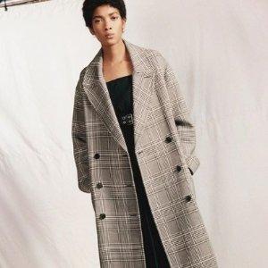 5折起 £49收牛仔夹克AllSaints 奥莱区外套专场超低价热卖 牛仔外套、大衣史低入