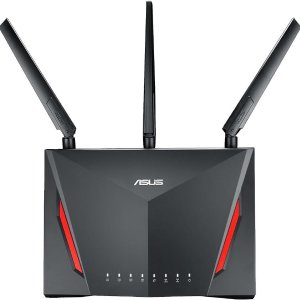 $157.84ASUS RT-AC86U AC2900 Wireless Dual-Band Gigabit Gaming Router
