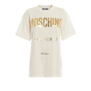 Moschinologo oversized 短袖