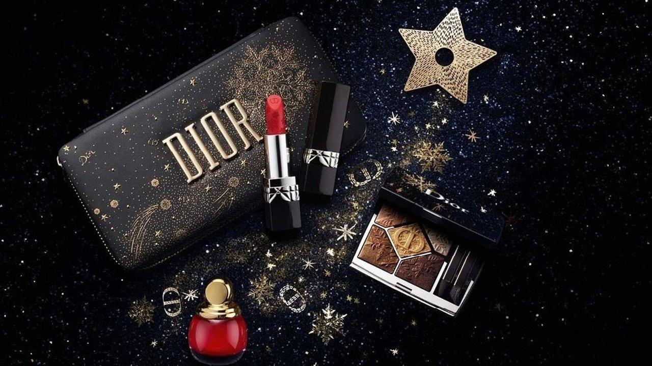 仙女必入!迪奥2020圣诞限定彩妆护肤选款全指南!开箱视频带你一起走进Dior的派对之夜~