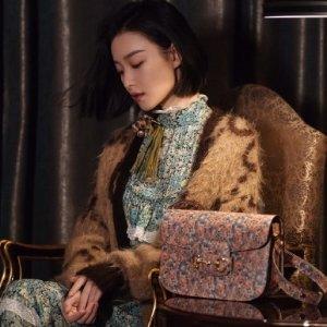 复古小碎花Gucci Liberty 系列上新 经典新风格  明星时尚达人都在穿