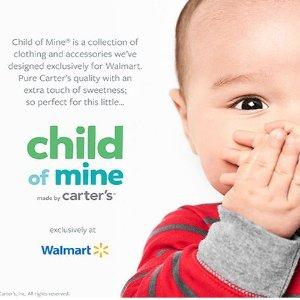 Carter's副牌 3件包臀衫$6.97child of mine品牌 婴幼儿服饰,有床品