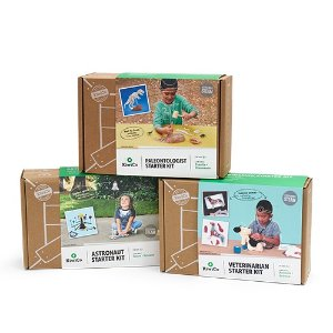 kiwico人气手工盒子3件套 适合6岁+