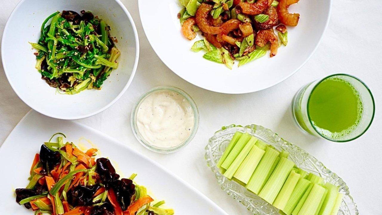 一周减脂餐之芹菜的5种吃法