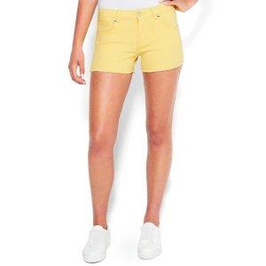 BebeLogo Pocket Denim Shorts