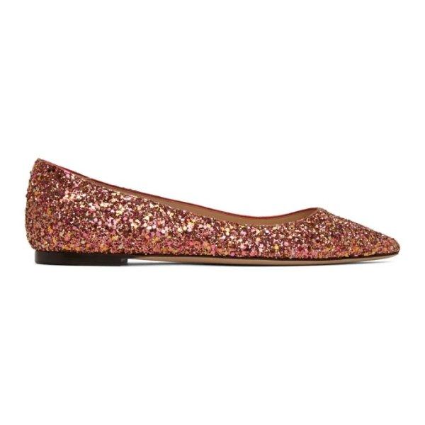 Romy 星星平底鞋