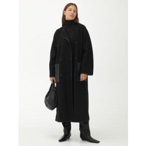 arket34码 74%羊毛大衣