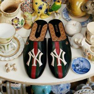 美衣美鞋全都有 超多明星上身的NY小鹿帽也有货上新:Gucci x New York Yankees 2018联名系列全新上市