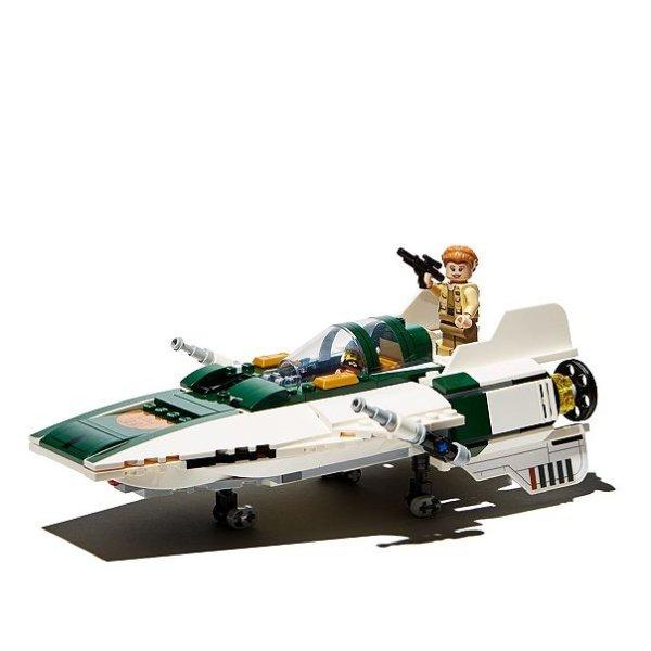 星战系列: 反抗军A翼星际战机,适合7岁+