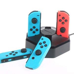 $22.1(原价$32.49)Switch手柄充电器 手柄随时有电 游戏快乐无限