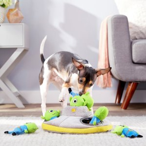 FRISCOHide and Seek Plush Flying Saucer Puzzle Dog Toy - Chewy.com