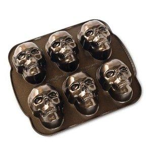 NORDIC WAREHaunted Skull Cakelet Baking Set - Sam's Club