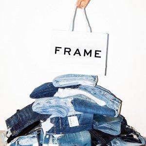 7折+包邮+多款码全   Frame $40+Intermix 美衣闪购,收Frame、Rag & Bone等大牌牛仔裤