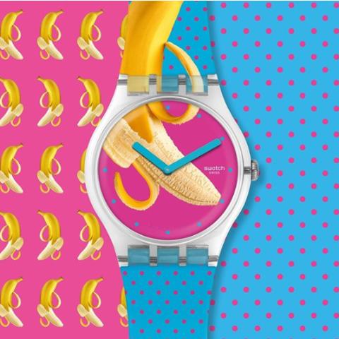 低至6.1折 £35入可可爱爱腕表Swatch 精选手表 折扣热卖 千元以下 可甜可咸