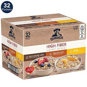 高纤维早餐燕麦片 混合口味 32包