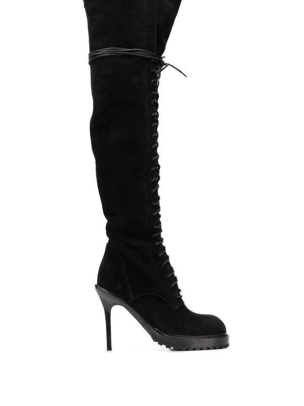 暗黑风过膝靴