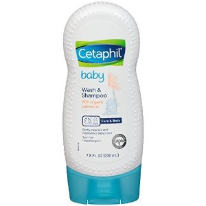 Cetaphil Baby有机金盏花洗发沐浴液7.8盎司