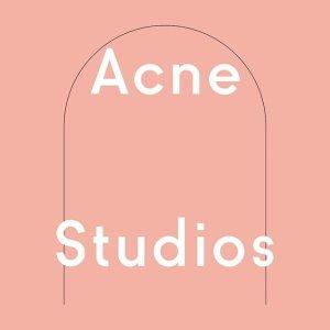 低至5折 €86收羊毛围巾Acne Studios 夏季热促中 收笑脸卫衣、条纹毛衣 反季好价速囤