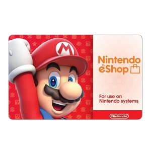 $50Nintendo eShop $50 电子礼卡 + Newegg $10 电子礼卡