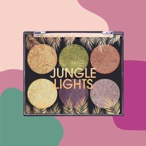 买1送1Flower Beauty Jungle Lights眼影盘促销