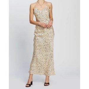 DazieRiviera丝绸感吊带裙