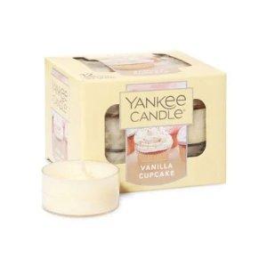 Yankee Candle香草蛋糕香味12个小蜡烛