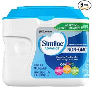 额外6折+9.5折+部分用户再享7折精选Similac婴幼儿奶粉大促,包括Pure Bliss