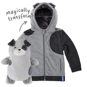 买1件即包邮Cubcoats 小狗造型公仔外套 带给宝宝双重温暖