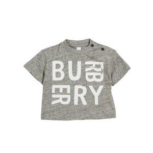 BurberryFurgus Heathered Logo Pocket Tee, Size 6M-2