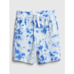 Gap宝宝--小童 有机棉扎染短裤
